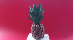 Как сделать ананас для кукол своими руками из пластилина поэтапно