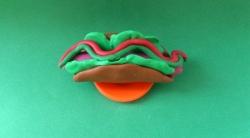 Как сделать хот дог для кукол своими руками из пластилина поэтапно