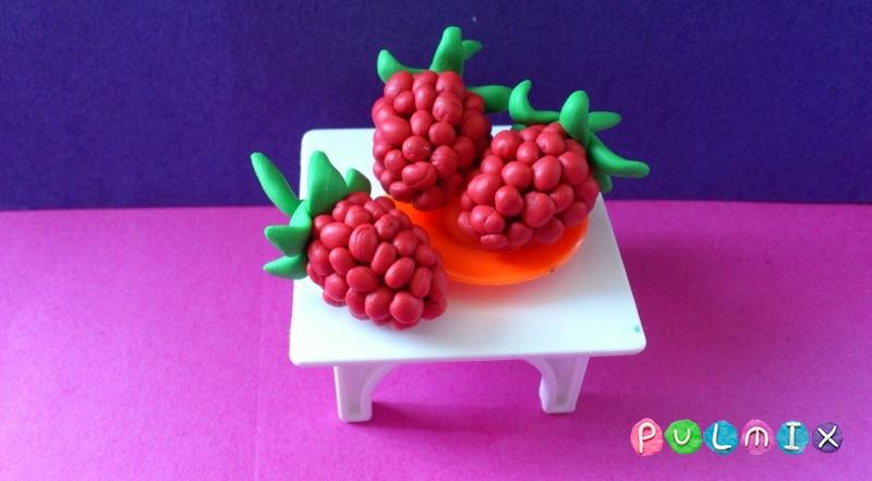 Ягоды малины своими руками
