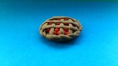 Фотография пирог из пластилина