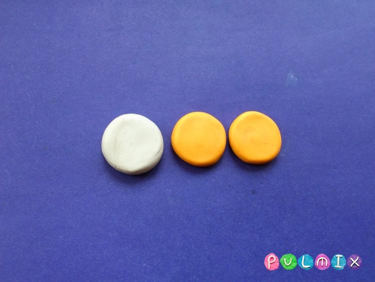 Как слепить пирожное для кукол из пластилина - шаг 3