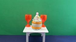 Как сделать пирожное из пластилина для кукол своими руками поэтапно
