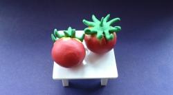 Как сделать помидоры для кукол своими руками из пластилина поэтапно