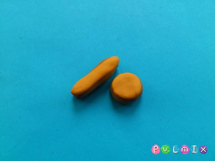 Как слепить пончики для кукол из пластилина поэтапно - шаг 4