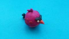 Лепим  птичку по имени Теренс из игры Angry Birds