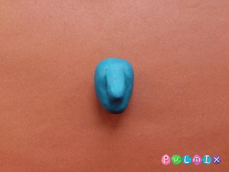 Как слепить аватара из пластилина - шаг 3