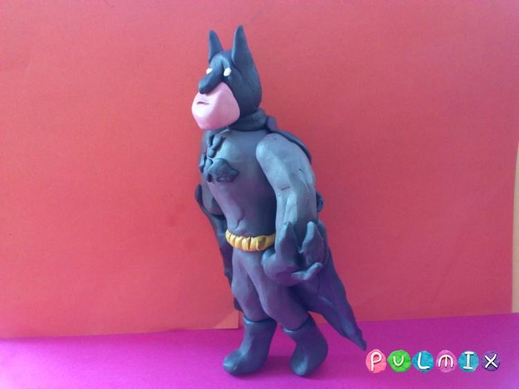 Как слепить Бэтмена из пластилина - шаг 11