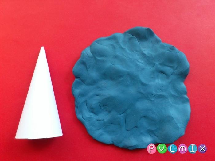 Золушка из пластилина поэтапный урок - шаг 12