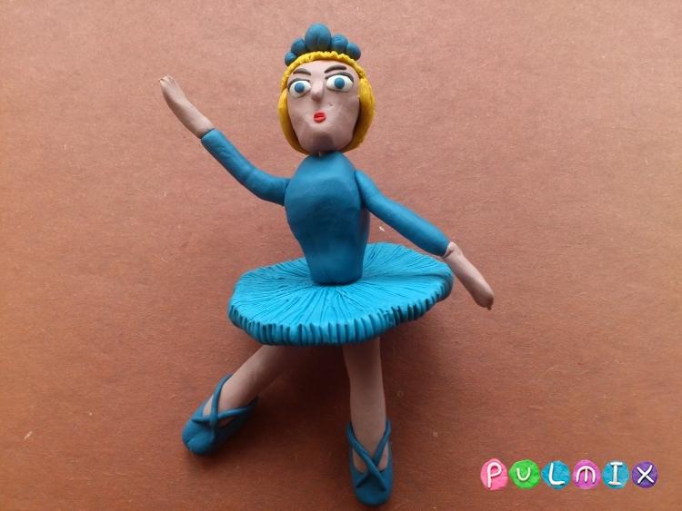 Как слепить балерину из пластилина поэтапно - шаг 15