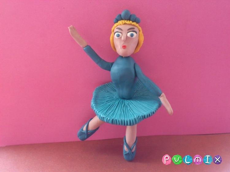 Как слепить балерину из пластилина поэтапно - шаг 16