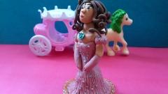 Как сделать из пластилина принцессу
