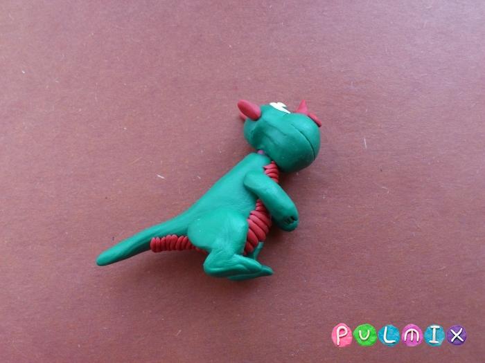 Дракончик из пластилина поэтапно - шаг 10