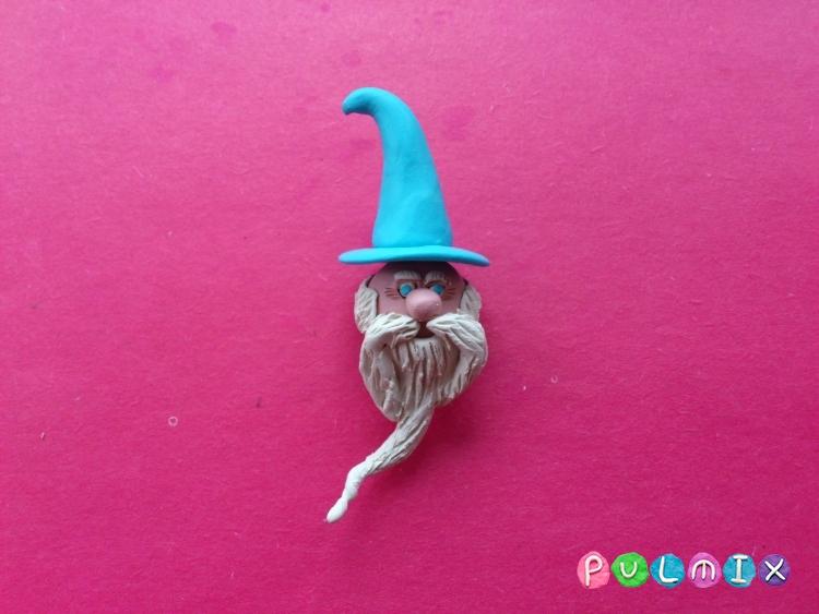 Как слепить волшебника из пластилина поэтапно - шаг 16