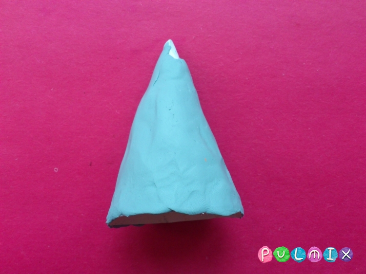 Как слепить волшебника из пластилина поэтапно - шаг 3