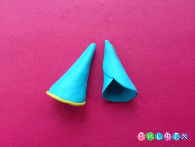 Как слепить волшебника из пластилина поэтапно - шаг 7