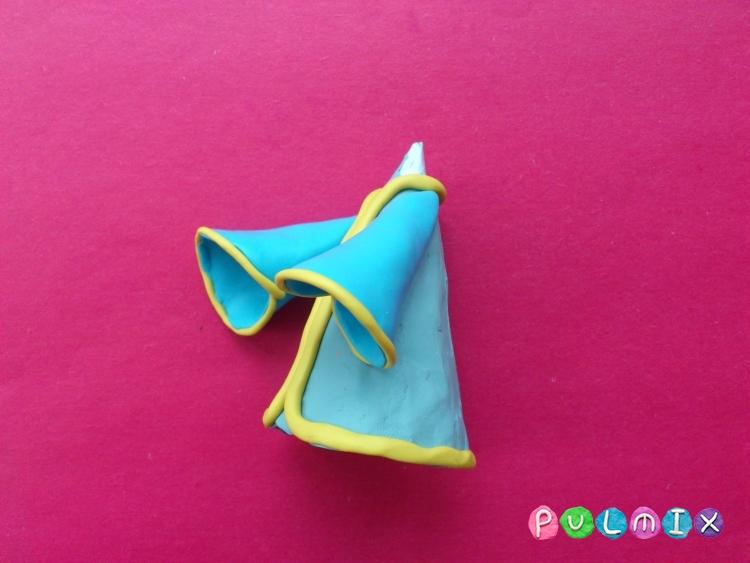 Как слепить волшебника из пластилина поэтапно - шаг 8