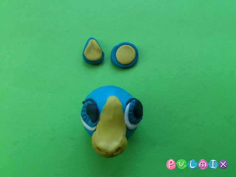 Как слепить пет шопа пони из пластилина - шаг 5