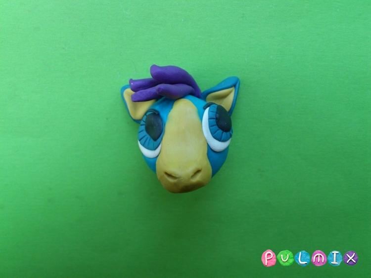 Как слепить пет шопа пони из пластилина - шаг 6