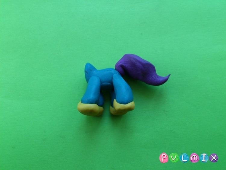 Как слепить пет шопа пони из пластилина - шаг 8