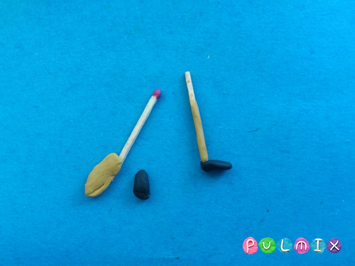 Как сделать губку боба из пластилина поэтапно - шаг 4