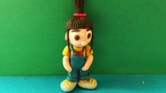 Как слепить   девочку Агнес из мультфильма Гадкий Я