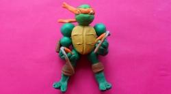 Как сделать черепашку-ниндзя Микеланджело своими руками из пластилина поэтапно