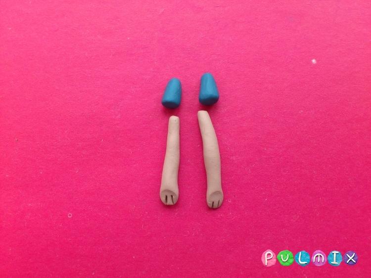 Как слепить Финна из пластилина поэтапно - шаг 10
