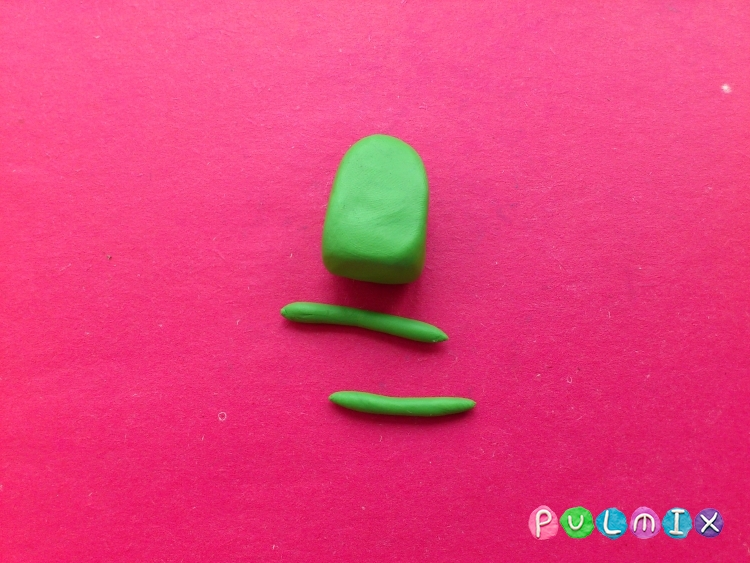 Как слепить Финна из пластилина поэтапно - шаг 15