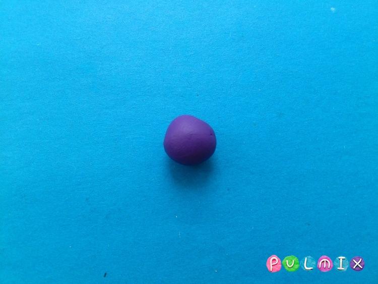 Как слепить Игрека из пластилина поэтапно - шаг 10