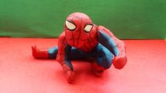 Как слепить из пластилина человека паука фото урок