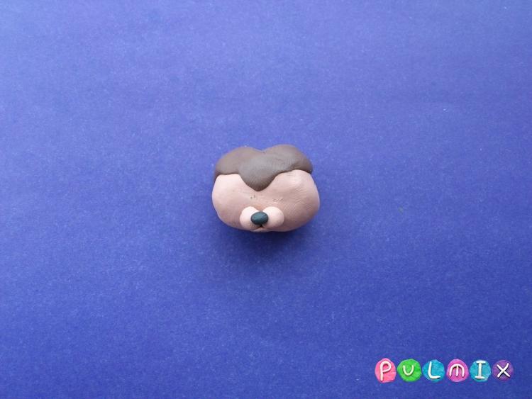 Как слепить из пластилина маленькую собачку Pet Shop - шаг 5