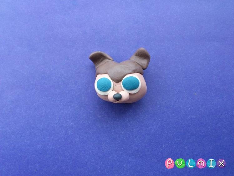 Как слепить из пластилина маленькую собачку Pet Shop - шаг 6