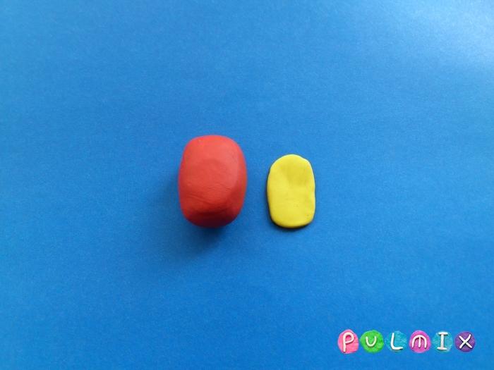 Как слепить из пластилина железного человека поэтапно - шаг 3