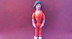 Как слепить Эйприл О'Нил - персонажа мультфильма Черепашки-ниндзя из пластилина