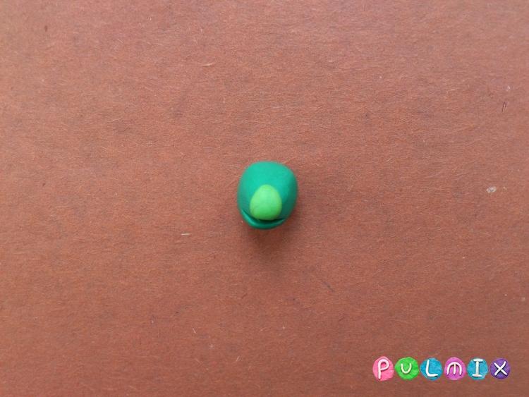 Как слепить Кузю из пластилина поэтапно - шаг 4