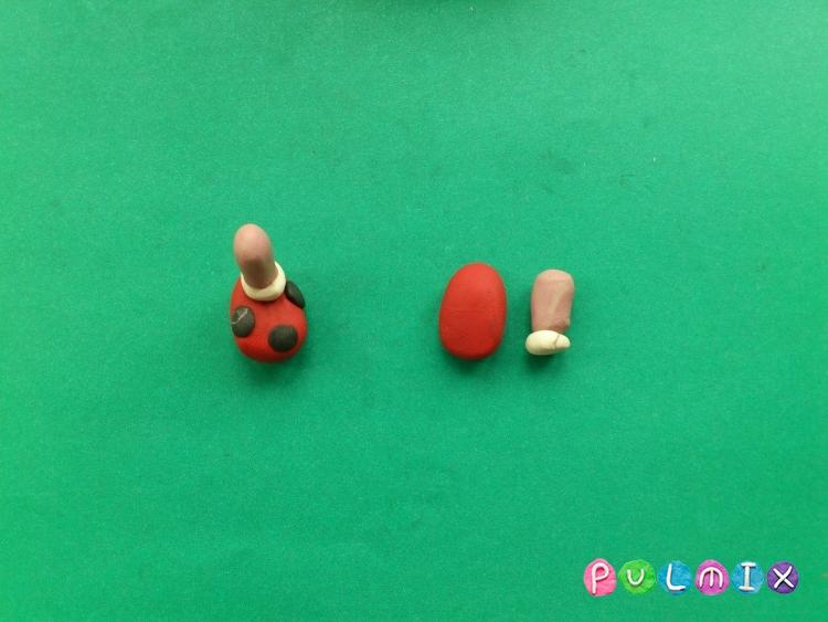 Как слепить Милу из пластилина поэтапно - шаг 11