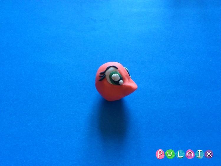 Как слепить пони Эпплджек из пластилина поэтапно - шаг 7