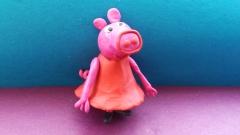 Как слепить свинку Пеппу из пластилина поэтапно