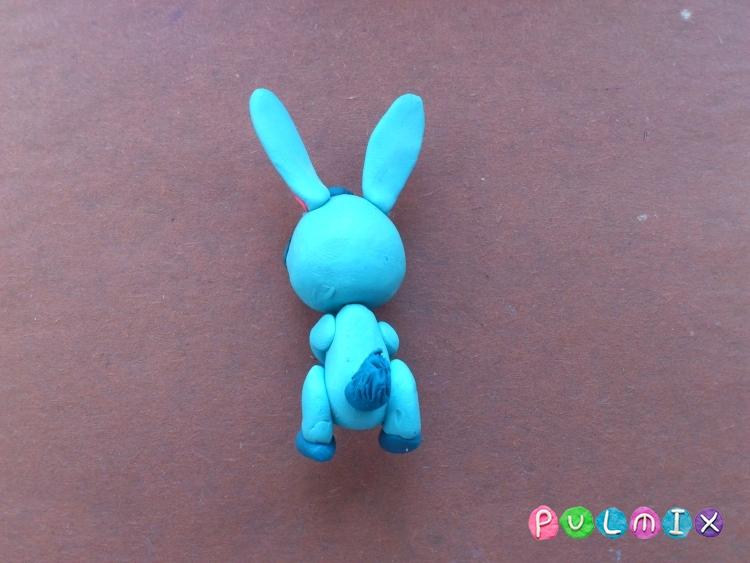Как слепить зайчика Littlest Pet Shop из пластилина - шаг 15