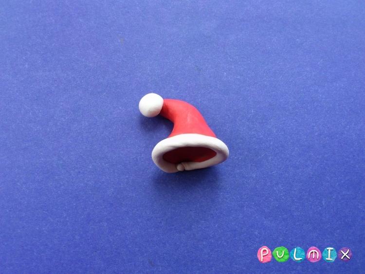 Как сделать Санта-Клауса из пластилина поэтапно - шаг 16