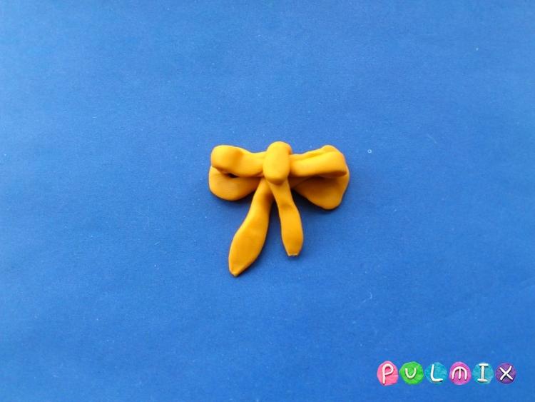 Как слепить сувенир сердечко из пластилина своими руками - шаг 8