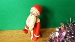 Как слепить Деда Мороза  своими руками