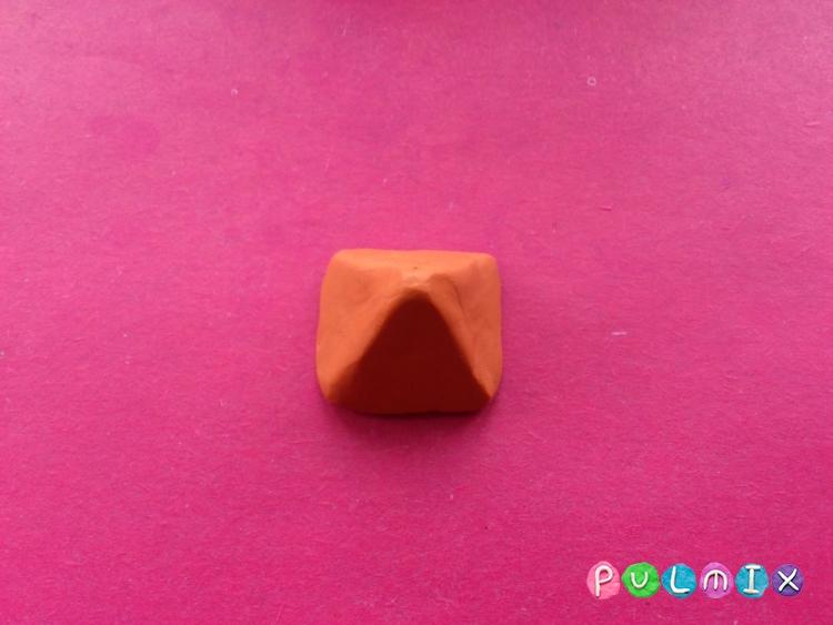 Как слепить новогодние подарки из пластилина - шаг 10