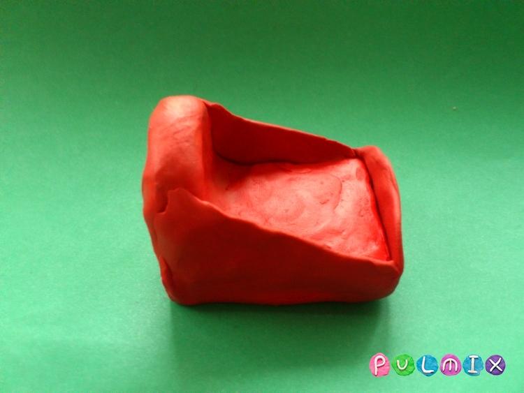 Как слепить из пластилина поэтапно фото