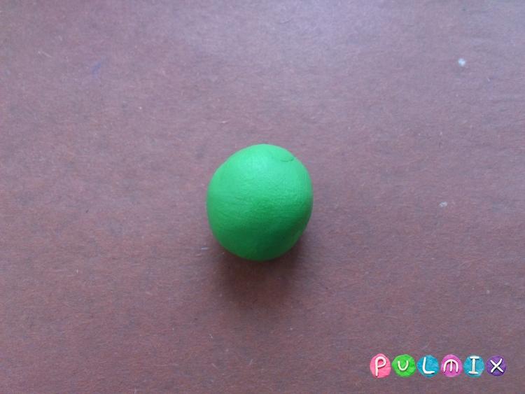 Как слепить березу из пластилина поэтапно - шаг 4