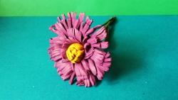 Как слепить цветок астру из пластилина