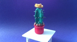 Как слепить кактус из пластилина поэтапно