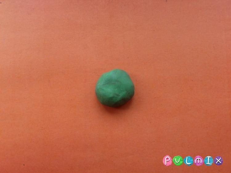 Ромашка из пластилина поэтапно с фото - шаг 6