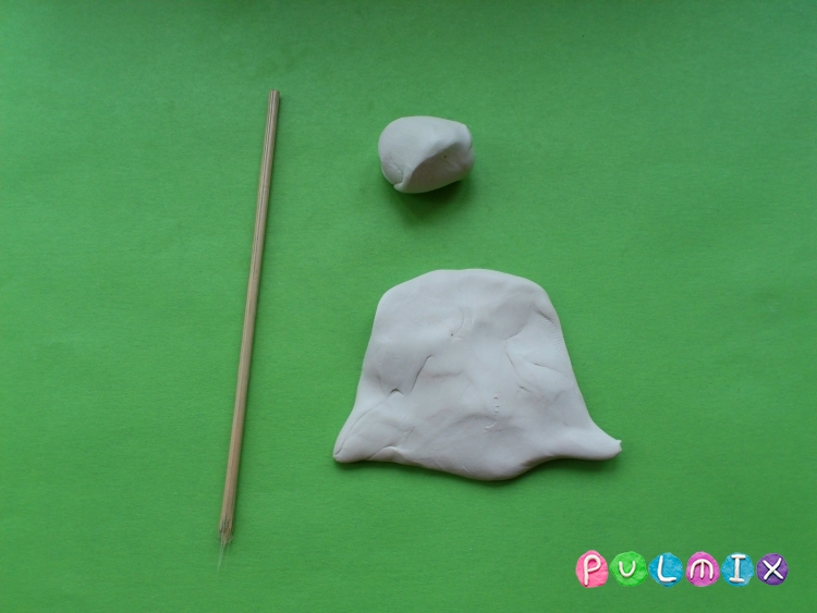 Как слепить кораблик из пластилина - шаг 7