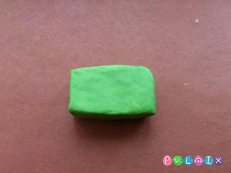 Как легко слепить троллейбус из пластилина фото урок - шаг 2
